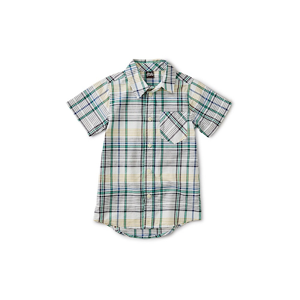 Tea Collection - Madras Woven Shirt - Spetses Plaid