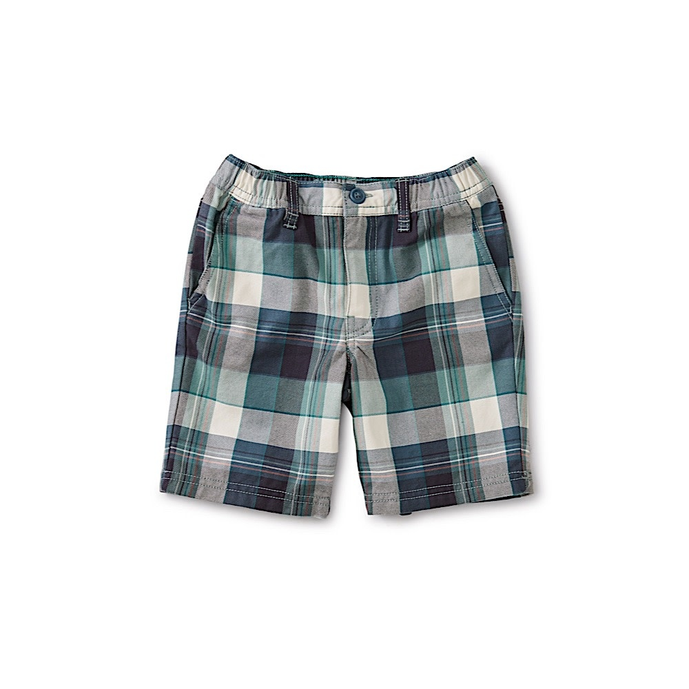 Tea Collection Travel Shorts - Giftun Plaid