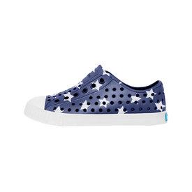 Native Shoes Native Shoes Jefferson Child Print - Regatta Blue/Shell White/Stars and Stripes