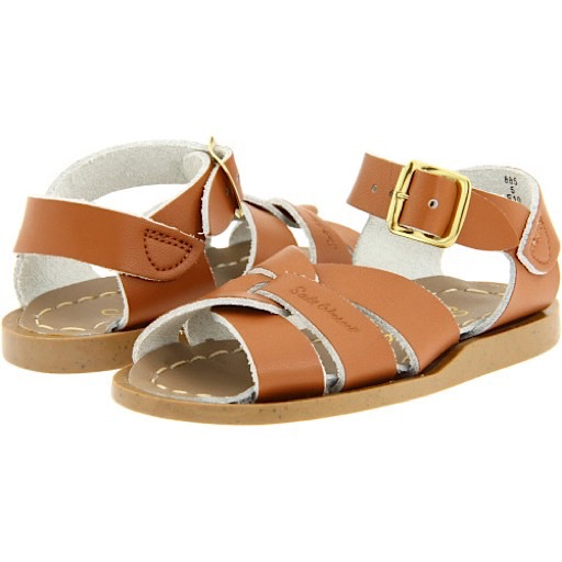 Salt Water Sandals The Original Toddler Tan