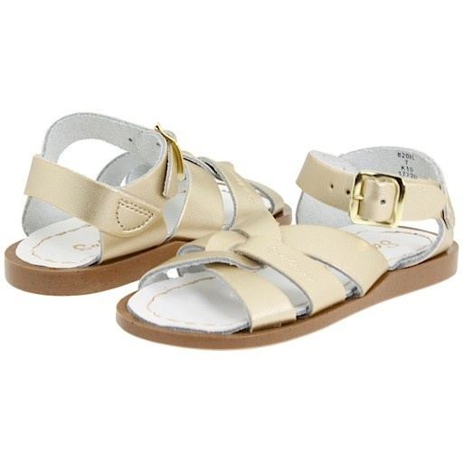 Salt Water Sandals The Original Toddler Gold