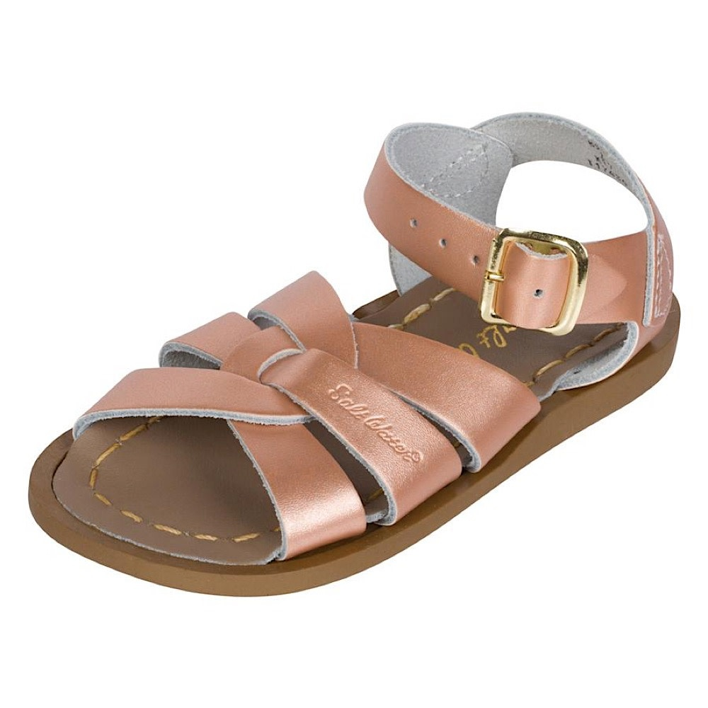 Salt Water Sandals Salt Water Sandals The Original Toddler Rose Gold