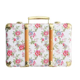 Alimrose Alimrose Mini Vintage Brief Case - Cottage Rose