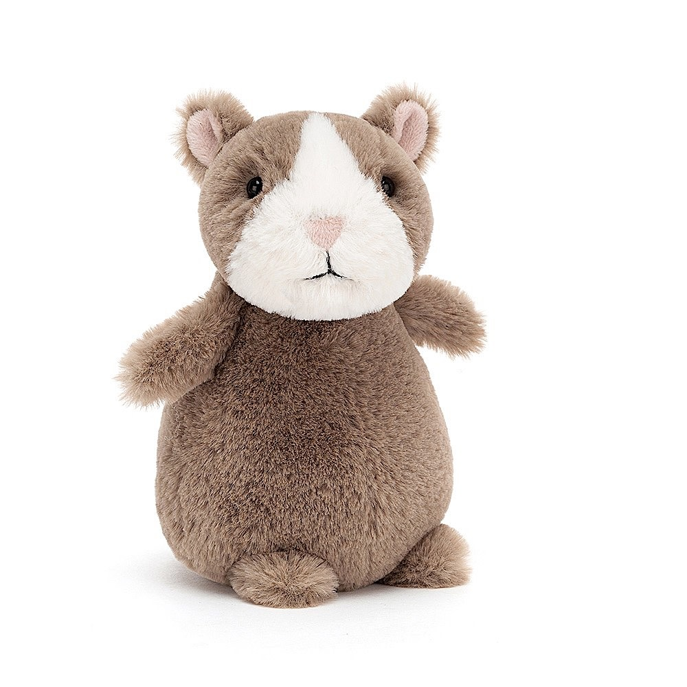 Jellycat Happy Nutmeg Hamster - 7 Inches