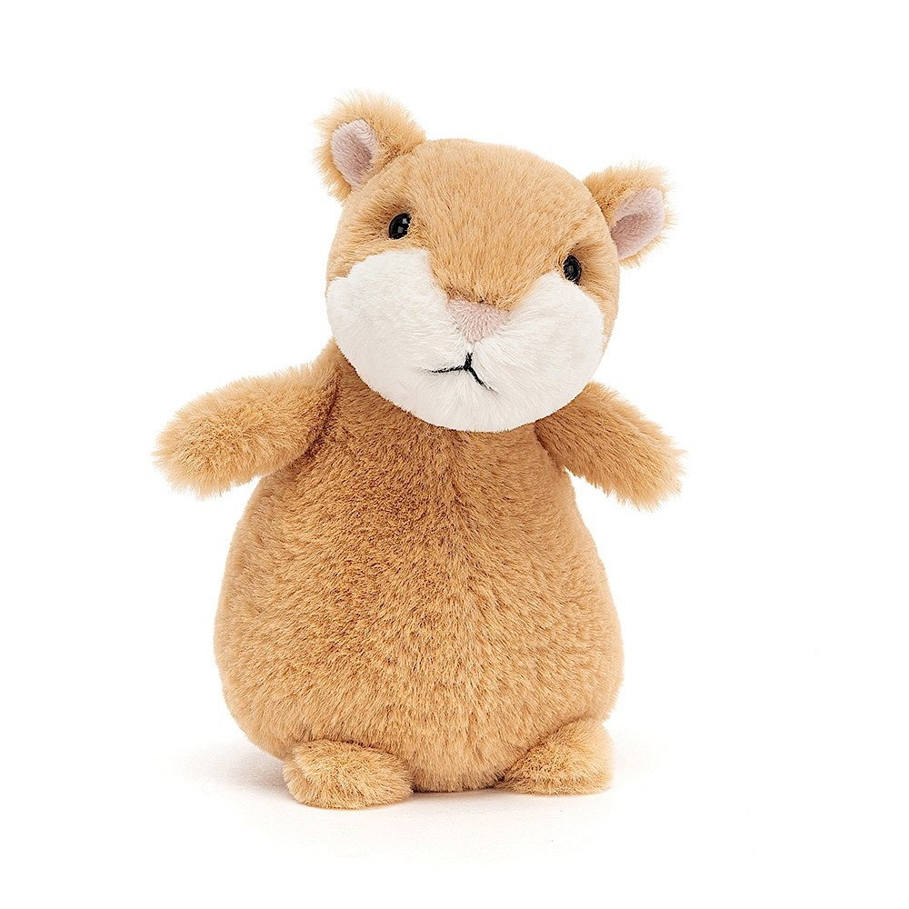 Jellycat Happy Cinnamon Hamster - 7 Inches