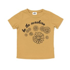 Kira Kira - Sunshine Graphic Short Sleeve T-Shirt - Golden