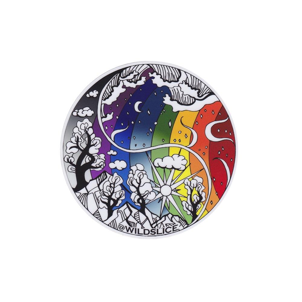 Wild Slice Design - Pride Sticker