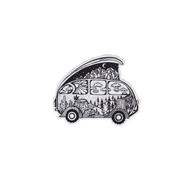 Wild Slice Design Wild Slice Design - Adventure Van Sticker