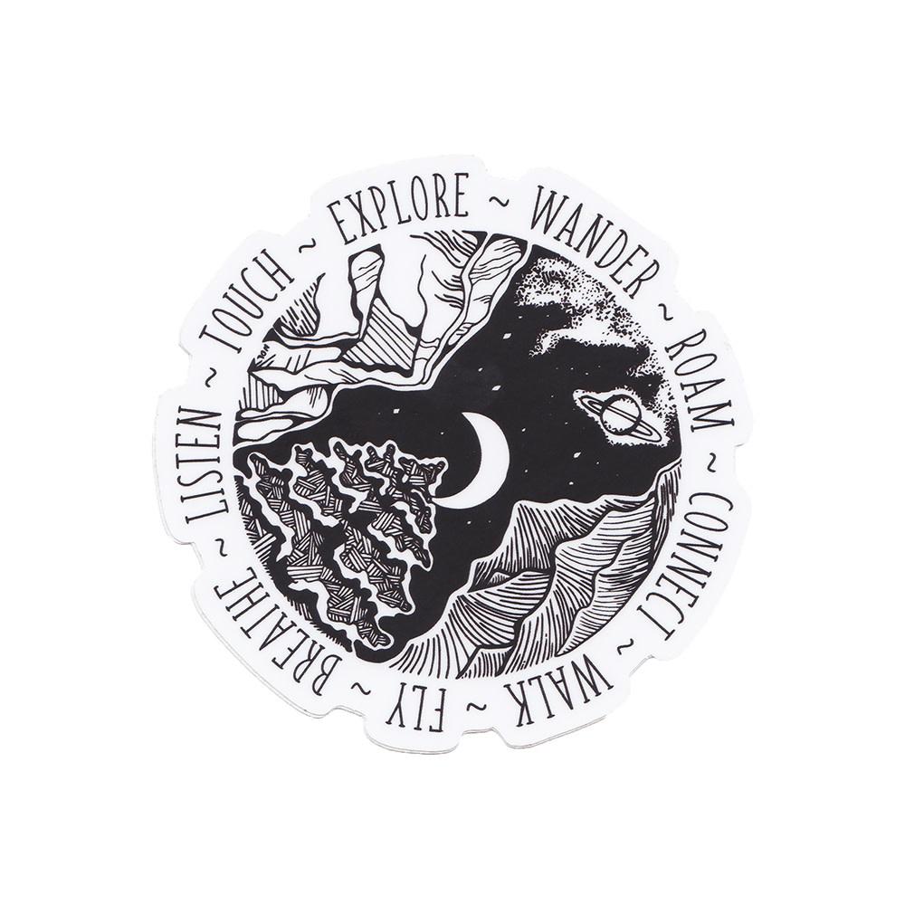 Wild Slice Design Wild Slice Design - Wander Sticker