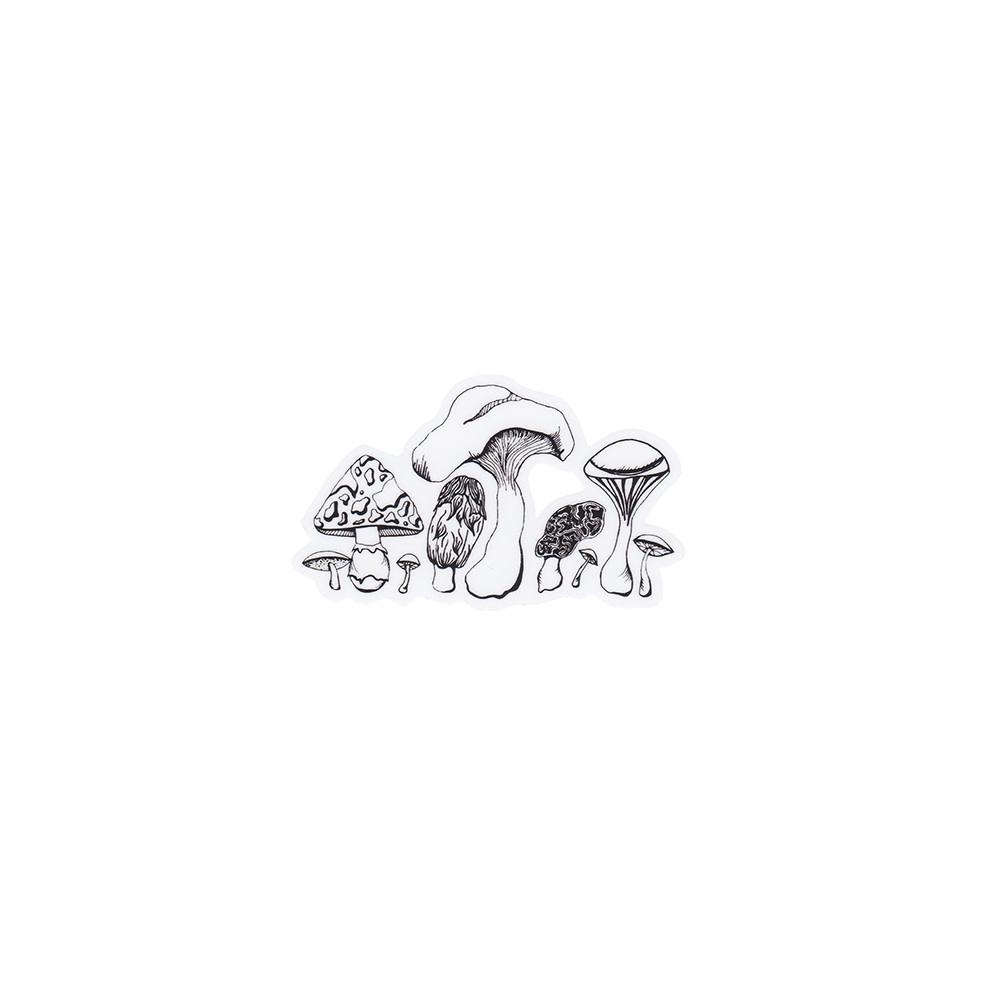 Wild Slice Design Wild Slice Design - Mushroom Sticker