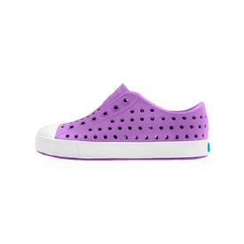 Native Shoes Native Shoes Jefferson Child - Starfish Purple/Shell White