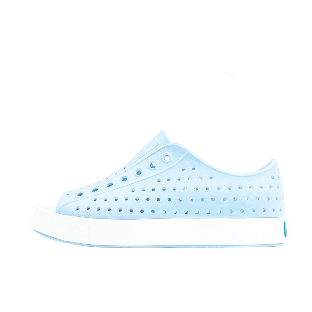 Native Shoes Jefferson Adult - Sky Blue/Shell White