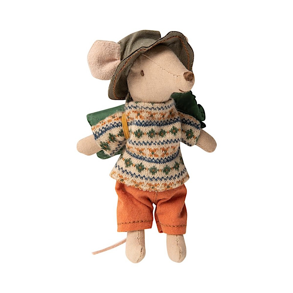 Maileg Maileg Mouse - Hiker Big Brother - Sweater