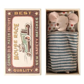 Maileg Maileg Mouse - Big Brother in Matchbox