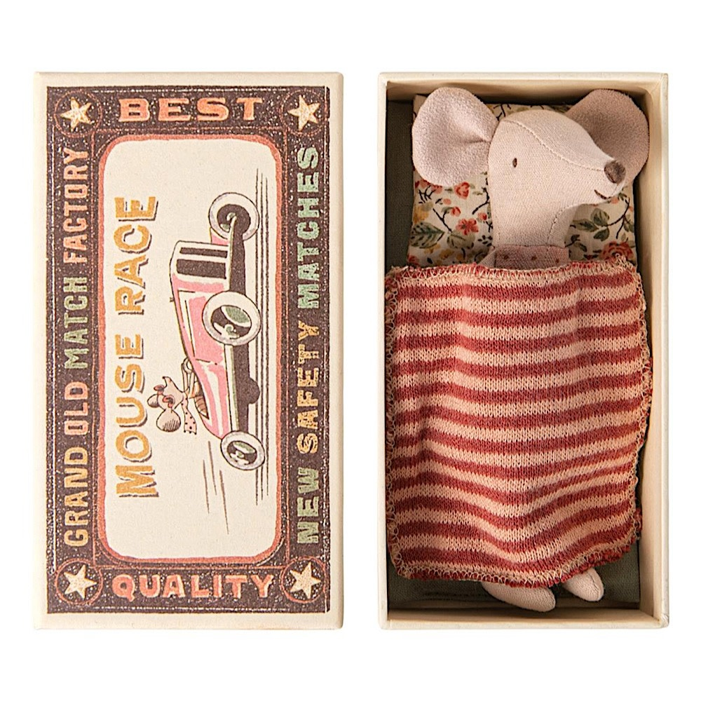 Maileg Maileg Mouse - Big Sister in Matchbox