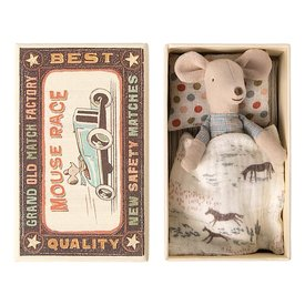 Maileg Maileg Mouse - Little Brother in Matchbox