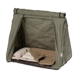 Maileg Maileg Happy Camper Tent - Striped Blanket