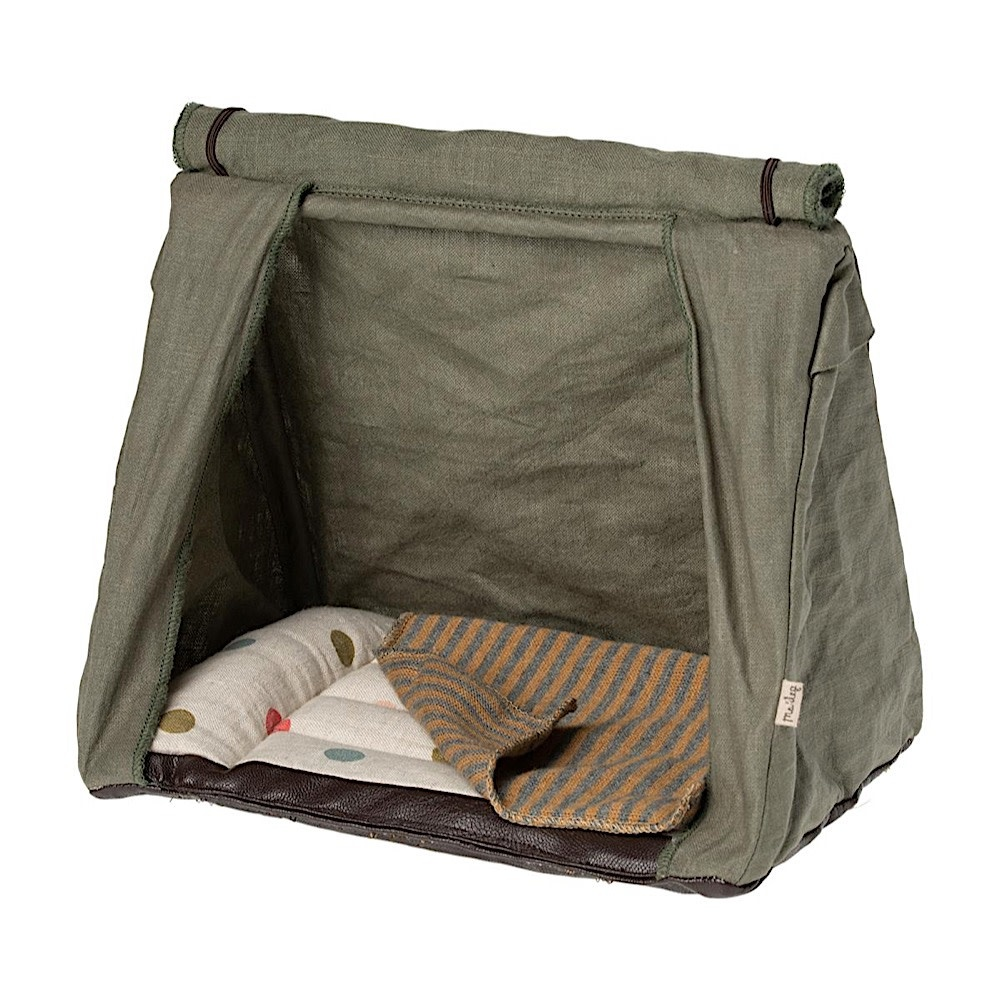 Maileg Happy Camper Tent - Striped Blanket