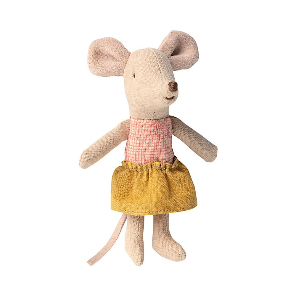 Maileg Mouse - Little Sister in Matchbox
