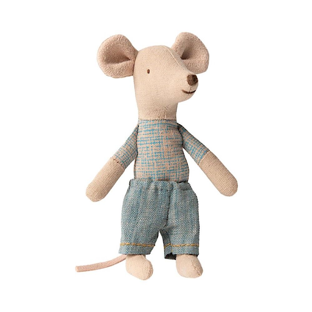 Maileg Mouse - Little Brother in Matchbox