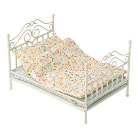 Maileg Maileg Vintage Bed - Micro - Soft Sand