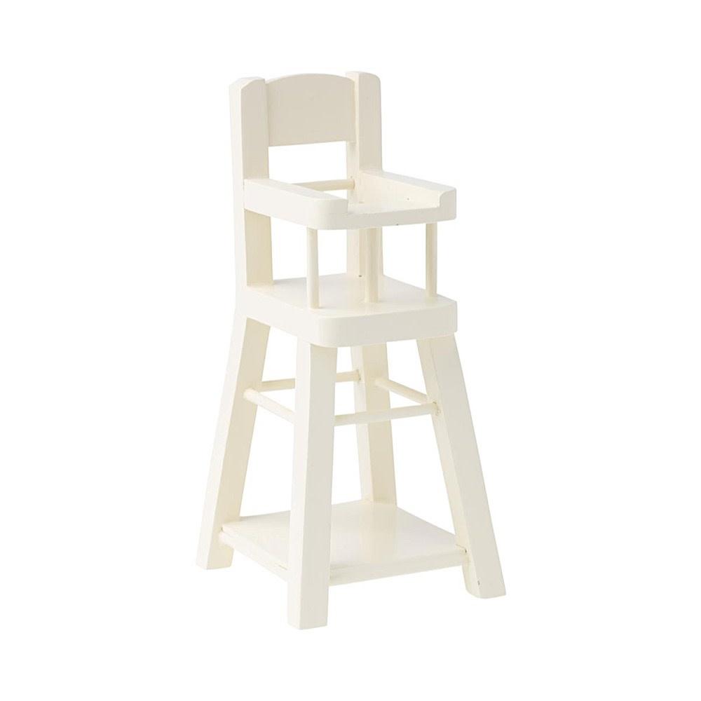Maileg Maileg Micro High Chair - White