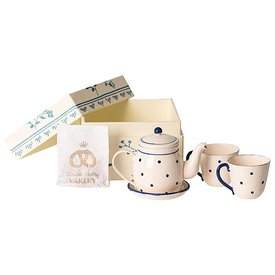 Maileg Maileg Tea and Biscuits for Two - Blue Dot