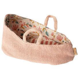 Maileg Maileg Carry Cot - Misty Rose