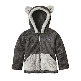 Patagonia Patagonia Baby Furry Friends Hoody - Forge Grey