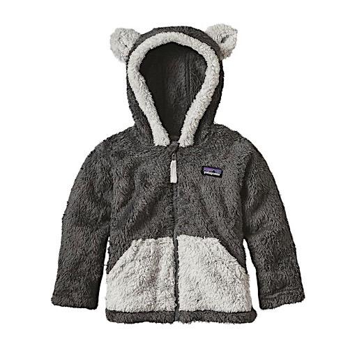 Patagonia Patagonia Baby Furry Friends Hoody - Forge Grey