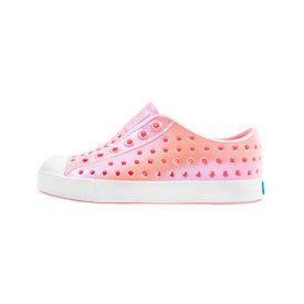Native Shoes Native Shoes Jefferson Child - Princess Pink/Shell White/Galaxy Iridescent
