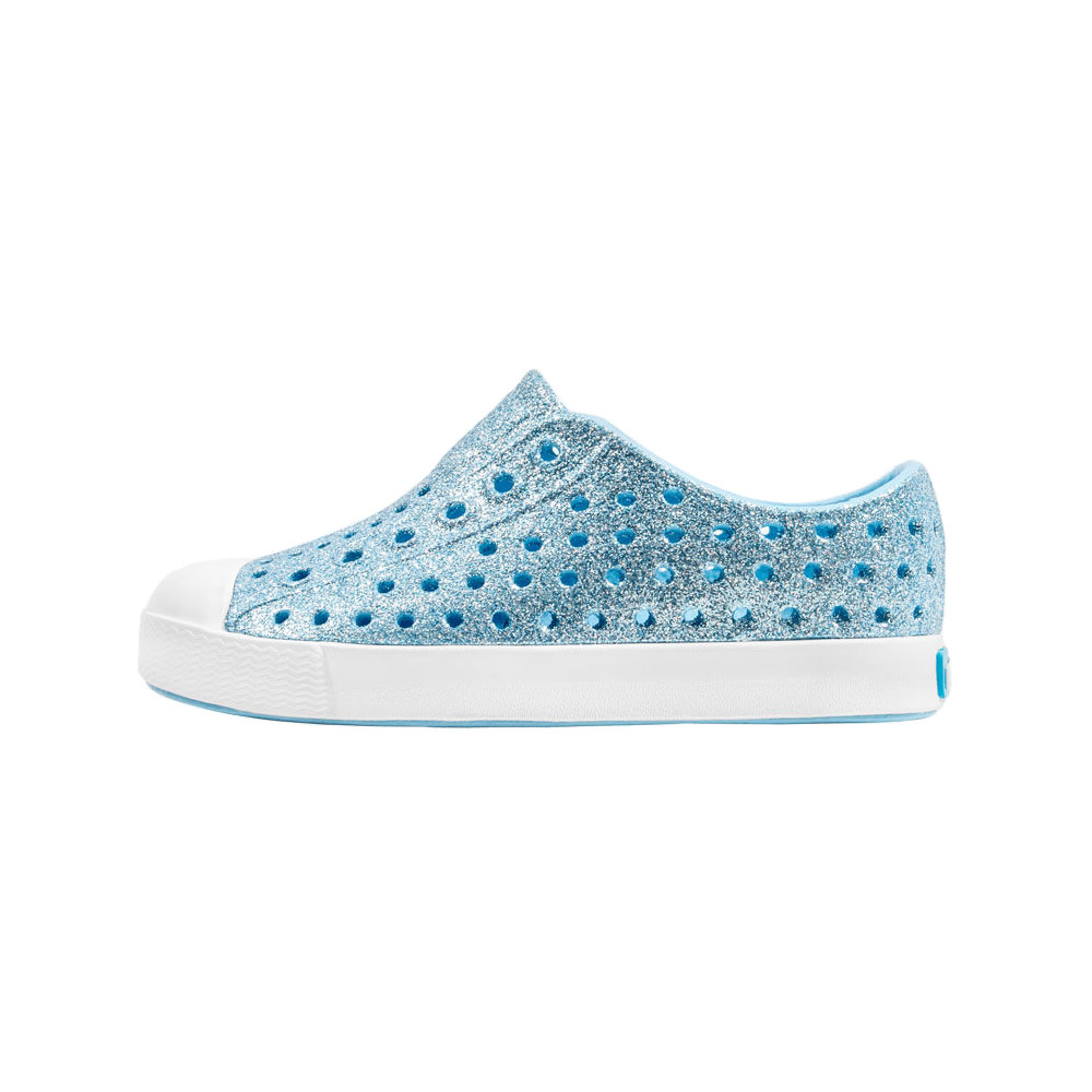 Native Shoes Native Shoes Jefferson Child - Light Sky Bling/Shell White