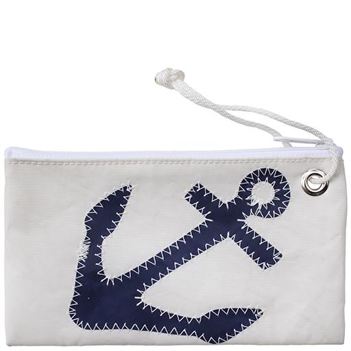 Sea Bags Wristlet - Navy Anchor