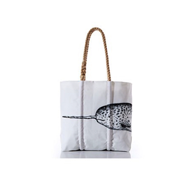 Sea Bags Sea Bags Species Tote - Narwhal - Medium