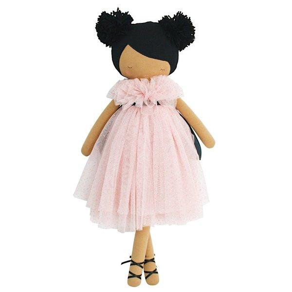 "Alimrose Alimrose Valentina Pom Pom Doll - Sparkle Pink 19"""