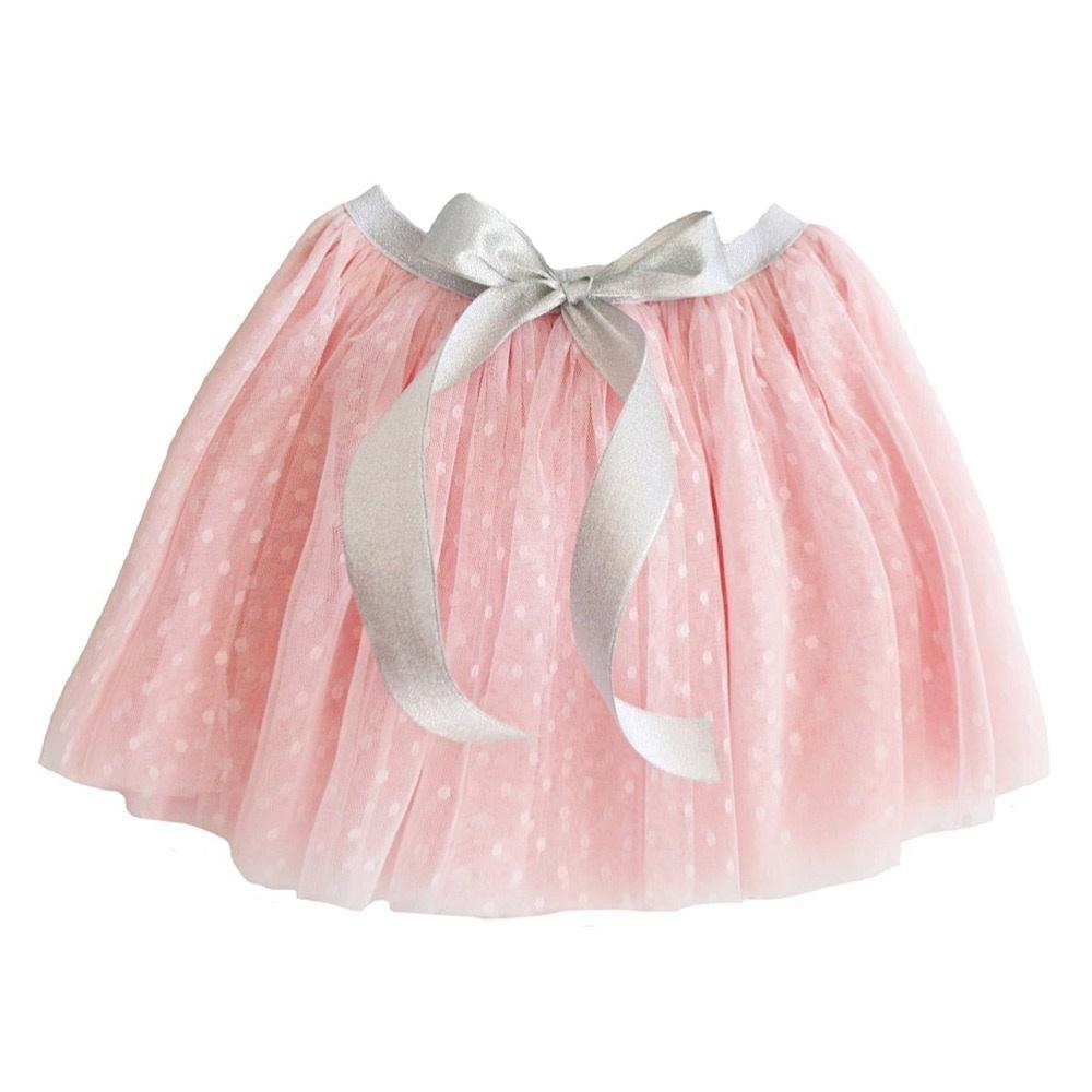 Alimrose Amelie Tutu - Pale Pink - 3-6Y