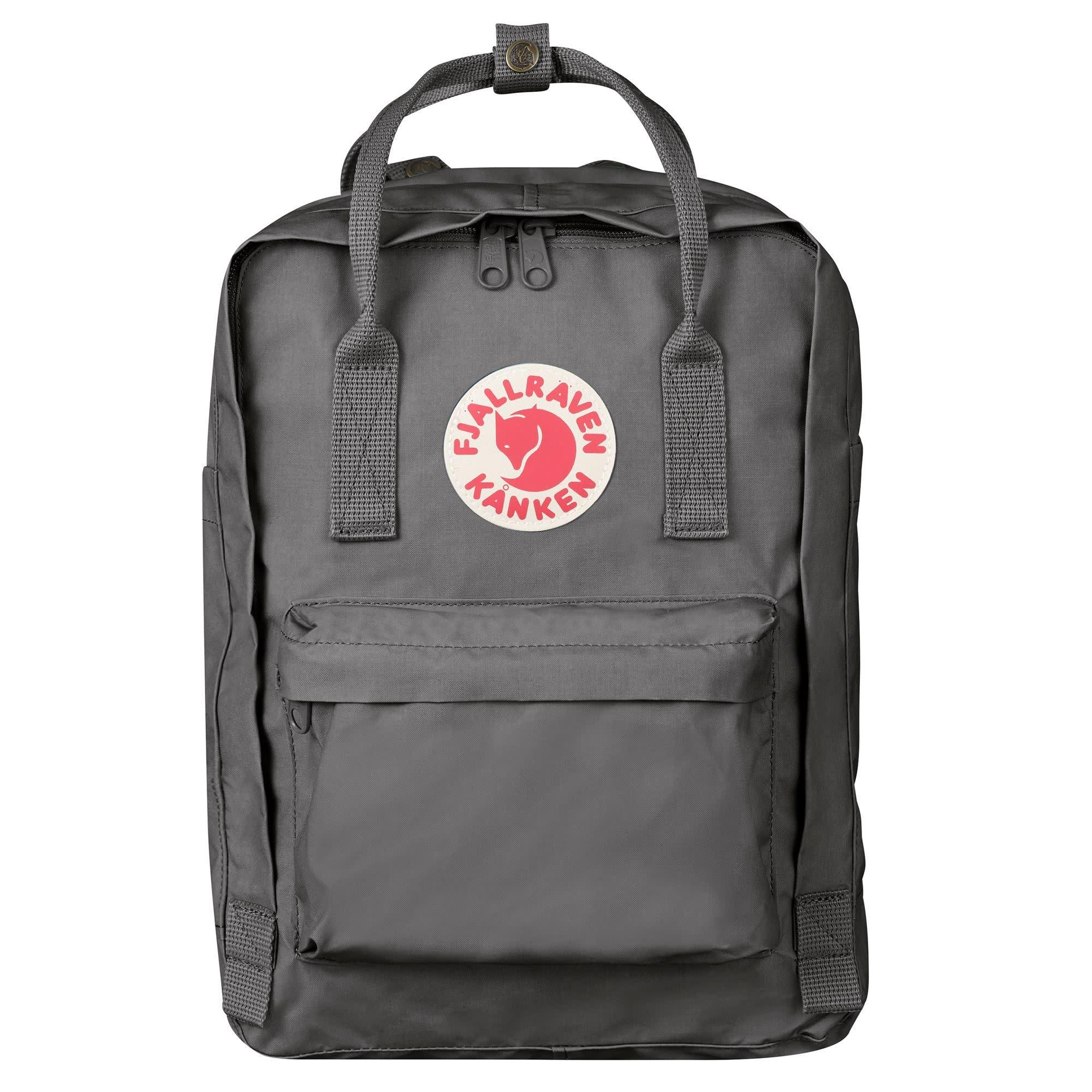 """Fjallraven Kanken 13"""" Laptop Backpack - Super Grey"""