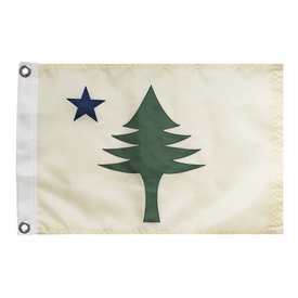 Original Maine Original Maine Flag - 12x18