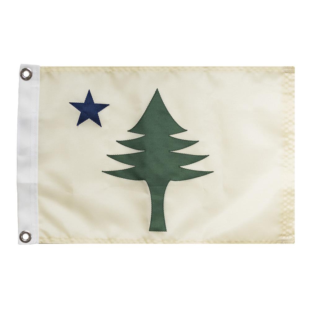 Original Maine Flag - 12x18