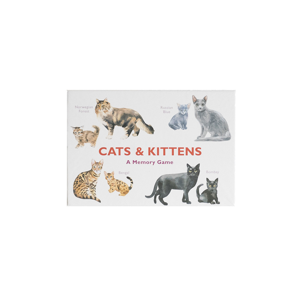 Chronicle Cats & Kittens: A Memory Game