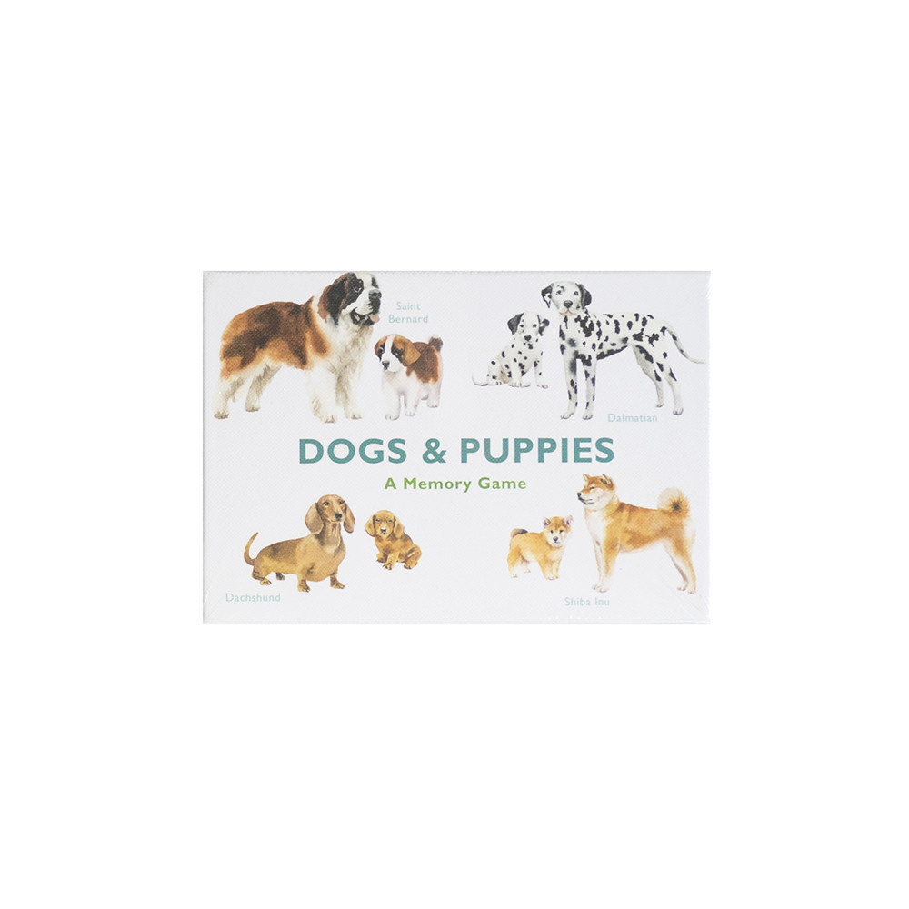 Chronicle Dogs & Puppies:  A Memory Game