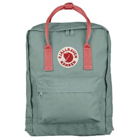 Fjallraven Arctic Fox LLC Fjallraven Kanken Classic Backpack - Frost Green-Peach Pink