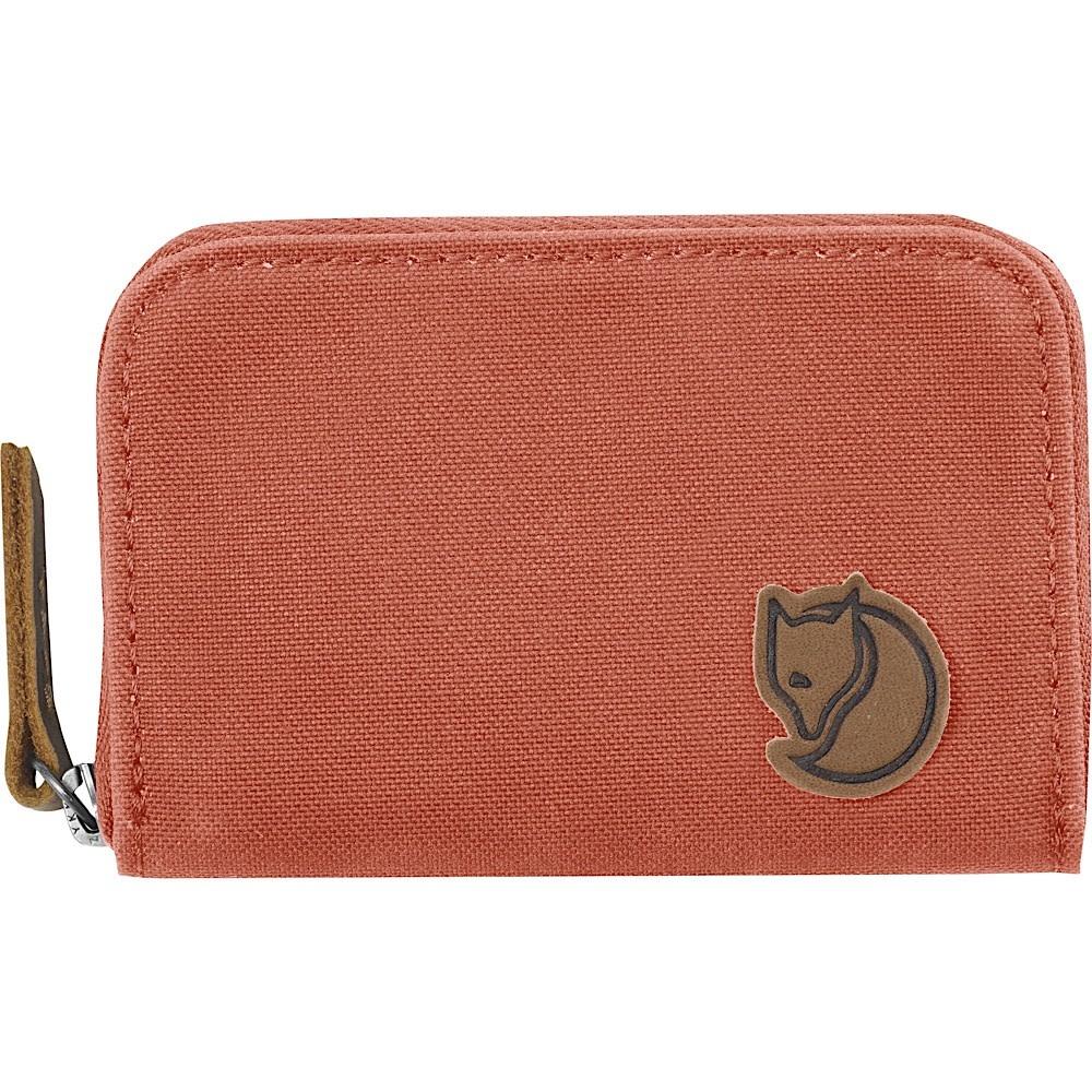 Fjallraven Zip Card Holder Wallet - Dahlia