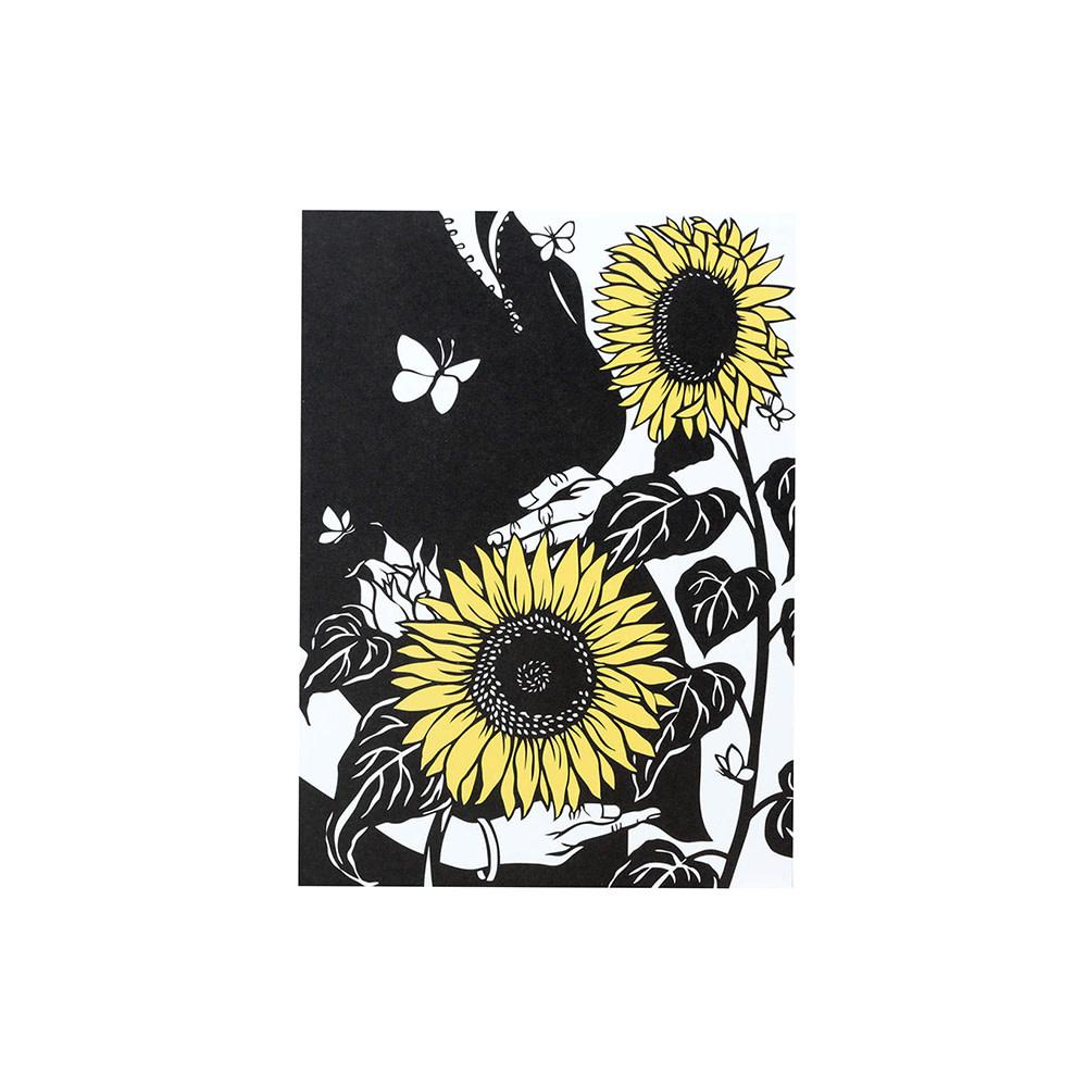 Nikki McClure Card - Grow