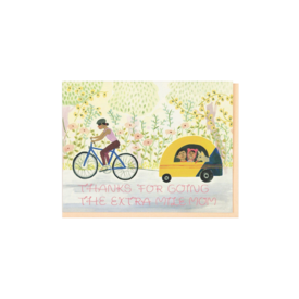 Small Adventure Small Adventure - Mom Biking Card