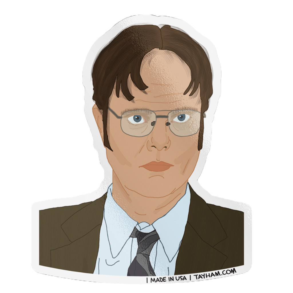 Tay Ham Dwight Fact Sticker
