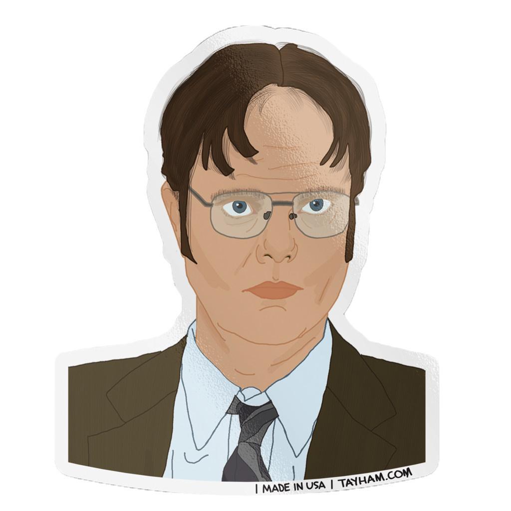 Tay Ham Tay Ham Dwight Fact Sticker