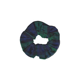 Two Little Beans & Co. Two Little Beans Scrunchie - Green Flannel