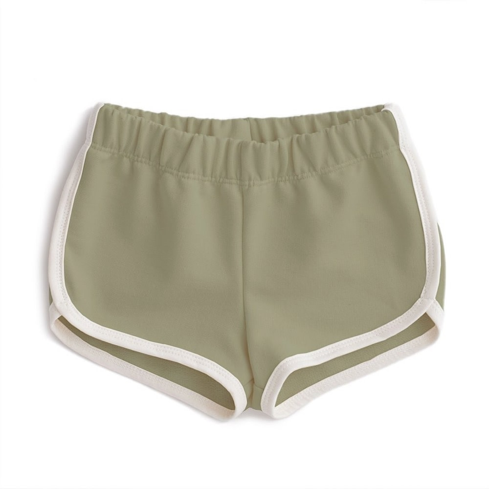 Winter Water Factory French Terry Shorts - Solid Sage