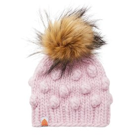 Sh*t That I Knit Sh*t That I Knit - Kids Campbell Beanie - Blush Pink